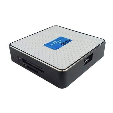 Leitor de Cartão de Memória F3, USB 3.0, Branco - JC-LT3.0