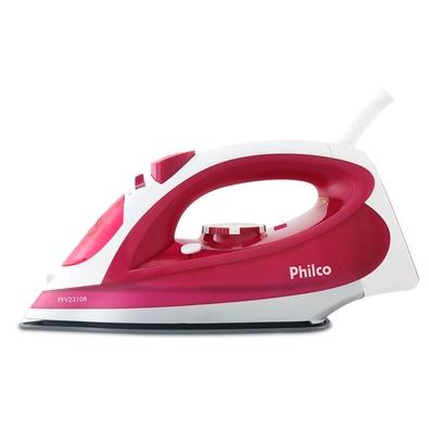 Ferro de Passar Philco PFV2310R, 1200W, 110V, Rosa/Branco - 53601035
