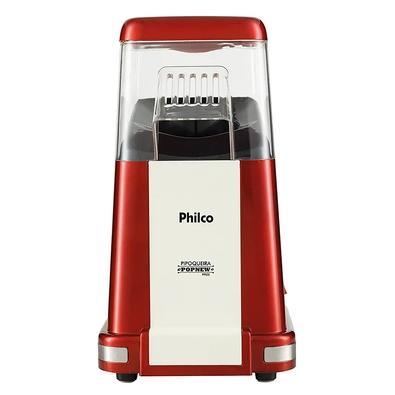 Pipoqueira Philco PopNew Retrô, 110V, Vermelho/Branco - 52551001