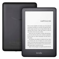 Kindle 10ª Geração, Preto, Luz Integrada, Wi-Fi, 8GB - AO0772