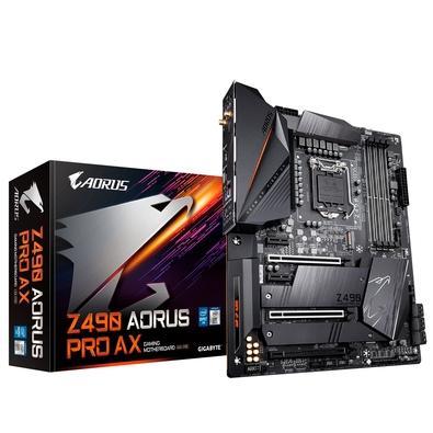 Placa-Mãe Gigabyte Aorus Z490 Aorus PRO AX, Intel LGA 1200, ATX, DDR4