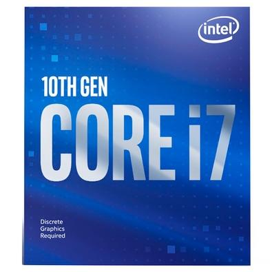 Processador Intel Core i7-10700F, Cache 16MB, 2.9GHz (4.8GHz Max Turbo), LGA 1200 - BX8070110700F
