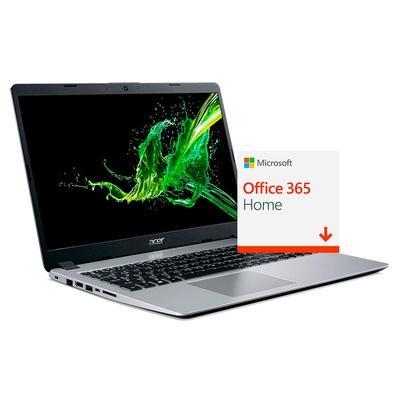 Notebook Acer i5-8265U 8GB SSD 256GB MX130 - A515-52G-56UJ + Microsoft Office 365 Home 2019 ESD 6 PCs 32/64 Bits 6GQ-00088 - Digital para Download
