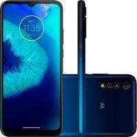 Smartphone Motorola Moto G8 Power Lite, 64GB, 16MP, Tela 6.5´, Azul Navy + Capa Protetora - PAJB0028BR