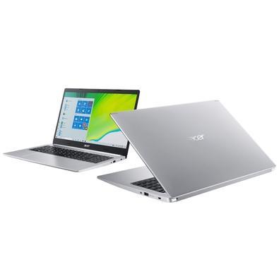 Notebook Acer Aspire 5 Intel Core i5-10210U, 8GB, SSD 256GB, NVIDIA MX250 2GB, Windows 10 Home, 15.6´, Prata - A515-54G-53GP