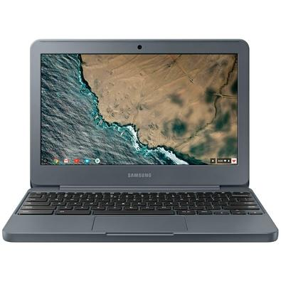 Chromebook Samsung Intel Dual Core, 32GB, Tela 11.6´, Google Chrome OS, Grafite - XE501C13-AD3BR + Microsoft Office 365 Home 2019 ESD 6 PCs 32/64 Bits 6GQ-00088 - Digital para Download