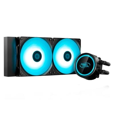 Water Cooler DeepCool Gammaxx L240T Blue, 120mm, LED Azul - GAMMAXX L240T BLUE