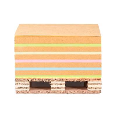 Bloco Adesivo Maxprint Cubo Kraft Colors, 400 Folhas (76x76mm) - 74000013