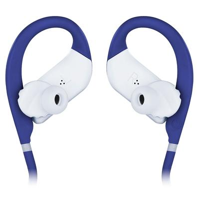 Fone de Ouvido Esportivo Bluetooth JBL Endurance Jump, com Microfone, Recarregável, À Prova d´Água, Azul - JBLENDURJUMPBLU