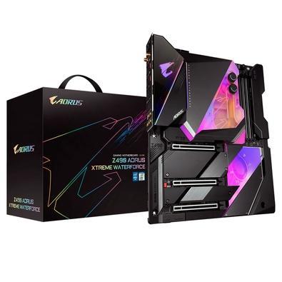 Placa Mãe Gigabyte Z490 AORUS XTREME Waterforce, Intel LGA1200, E-ATX, DDR4, RGB, Wi-Fi, Bluetooth