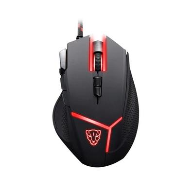 Mouse Gamer Motospeed V18, RGB, 9 Botões, 4200DPI - FMSMS0059PTO