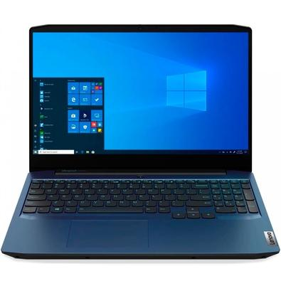 Notebook Lenovo Ideapad Gaming 3 Intel Core i7-10750H, 8GB, SSD 256GB, GTX 1650 4GB, Windows 10 Home, 15.6´, Chameleon Blue - 82CG0001BR