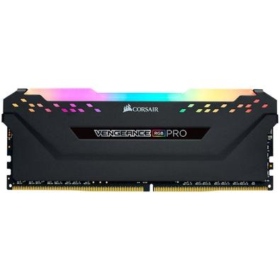Memória Corsair Vengeance RGB Pro, 8GB, 3200MHz, DDR4, C16 - CMW8GX4M1Z3200C16