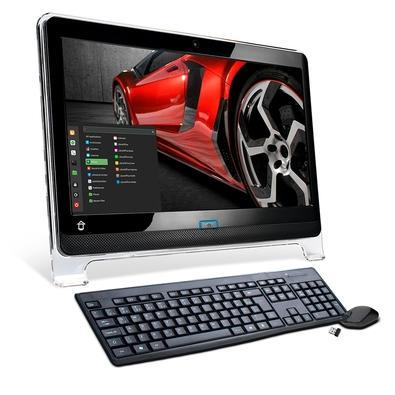 All In One Home Tech Talent Intel Pentium G5400, 4GB, SSD 120GB, Windows 10 - HTA206-R001W