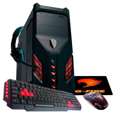 Computador Gamer G-Fire AMD A6 7480, 8GB, SSD 240GB, Linux - HTG R714