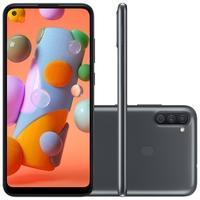 Smartphone Samsung Galaxy A11, 64GB, 13MP, Tela 6.4´, Preto - SM-A115MZKSZTO
