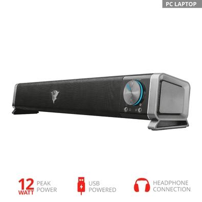 Soundbar Gamer Trust GXT 618 Asto Sound Bar PC Speaker, USB, 6W RMS - 22209