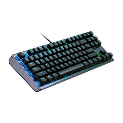 Teclado Mecânico Gamer Cooler Master CK530, RGB, Switch Blue, US - CK-530-GKGL1-US