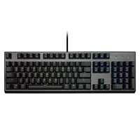 Teclado Mecânico Gamer Cooler Master CK350, RGB, Switches Outemu Brown, US - CK-350-KKOM1-US