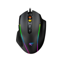 Mouse Gamer Havit MS1011, RGB, 8 Botões, 7200DPI - HV-MS1011