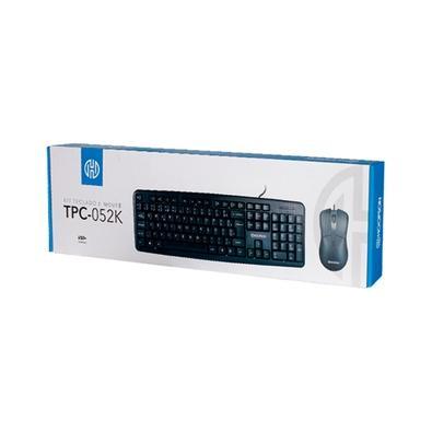Teclado + Mouse Hoopson, ABNT2 - TPC-052K