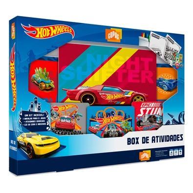 Box de Atividades Hot Wheels, Copag - 90946