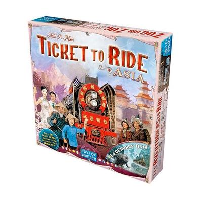 Ticket to Ride: Asia, Expansão - TTR009