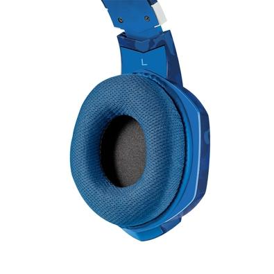 Headset Gamer Trust, GXT 322B Carus - Azul - 23249