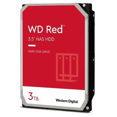 HD WD Red, 3TB, 3.5´, SATA 6Gb/s - WD30EFAX