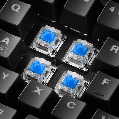 Teclado Gamer Sharkoon Skiller, Switch Blue, RGB - SGK30 Blue