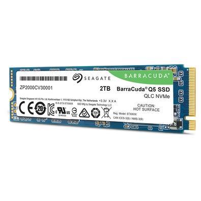 SSD Seagate Barracuda Q5, 2TB, M.2, PCIe G3 x4 - ZP2000CV3A001