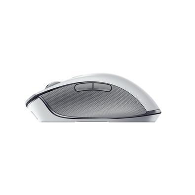 Mouse Sem Fio Gamer Razer Pro Click, Bluetooth, Optical Switch, 8 Botões, 16000DPI, Mercury White - RZ01-02990100-R3U1