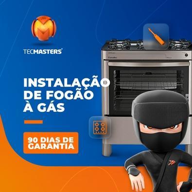 Instalação de Fogão Kit Gás não incluso