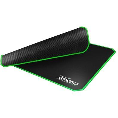 Mousepad Gamer Fortrek Speed MPG101, Médio (320X240mm), Preto/Verde - 72691
