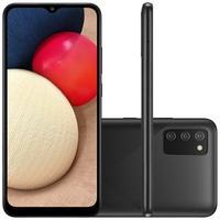 Smartphone Samsung Galaxy A02s, 32GBM, RAM 3GB, Octa-Core, Câmera Tripla, Preto - SM-A025MZKVZTO
