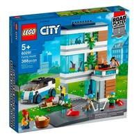 LEGO City - Casa de Família Moderna, 388 Peças - 60291