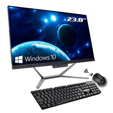 Computador All In One Hometech Intel Core i5-10400, 8GB, 240GB SSD, WiFi, 23.8´ FHD, Windows 10 Pro - HTA24G2-RHW