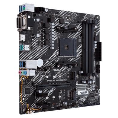 Placa Mãe Asus PRIME B550M-K, AMD Socket AM4, mATX, DDR4 - 90MB14V0-M0EAY0