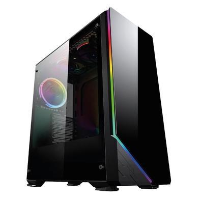 PC Gamer Completo XP, Intel Core i5, 8GB, (Placa de vídeo Radeon RX 550 4GB), HD 2TB, 500W, 3green Monitor 21.5'', Prata, 75Hz