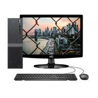 Computador Skill Slim Completo Intel Celeron J1800, 4GB, SSD 120GB, 2.58Ghz, Monitor 15.6´, HDMI, LED, Áudio 5.1 canais