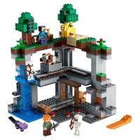 LEGO Minecraft - A Primeira Aventura, 542 Peças - 21169