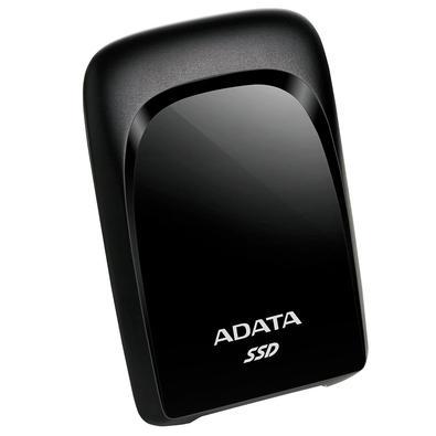 SSD Externo Adata SC680 240GB, USB 3.2 Tipo C, Resistente à Choque, Preto - ASC680-240GU32G2-CBK