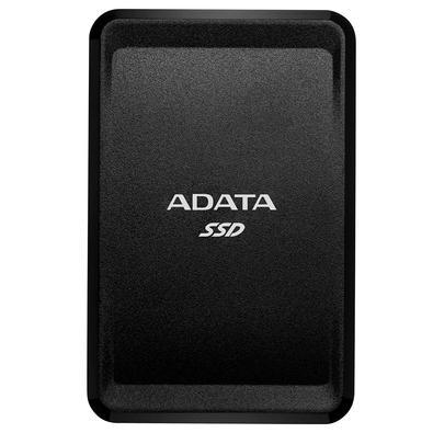 SSD Externo Adata SC685 1TB, USB 3.2 Tipo C, Resistente à Choque, Preto - ASC685-1TU32G2-CBK