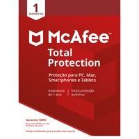 McAfee Total Proteção para 01 Dispositivo, ESD - Digital para Download