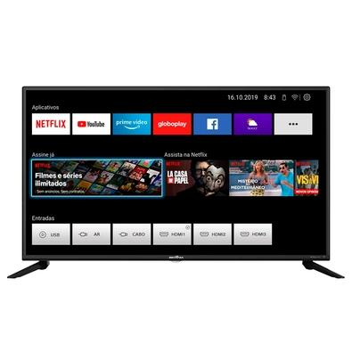 Smart TV Britânia 42´ LED Full HD, 3x HDMI, com WiFi, Dolby Audio, Netflix e Loja de Aplicativos, Preto - BTV42G70N5CF