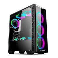 PC Gamer PCMIX Intel Core i3-9100, 16GB DDR4, SSD 480GB, Fonte 500W 80 Plus, MB Asus H310M-E PRIME, Linux - CPU L3100