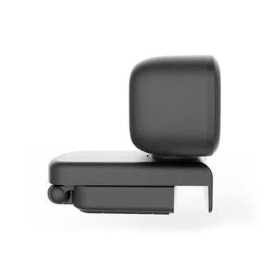 Webcam Multilaser Full HD 1080p, USB, Foco Automático com Rotação 360 e Microfone, Preto - WC052