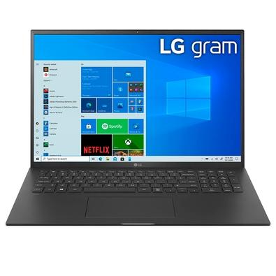 Notebook LG Gram Intel Core i7-1165G7, 16GB, 512GB SSD, 17´ IPS, Windows 10 Home, Preto - 17Z90P-G.BH71P1