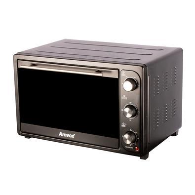 Forno Elétrico Amvox 45L, com 4 Temperaturas Até 250 Graus, 220V, Preto - AFR 4500