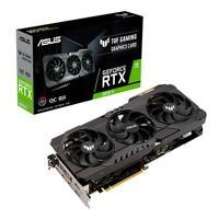 Placa de Vídeo Asus TUF RTX 3070 Ti O8G Gaming LHR, 19 Gbps, 8GB GDDR6X, Ray Tracing, DLSS - 90YV0GY0-M0NA00
